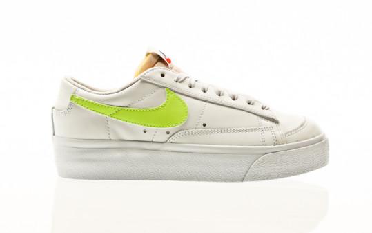 Nike Blazer Low Platform white-light lemon twist-white-black