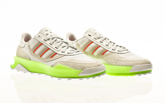 adidas Originals Indoor CT footwear white-signal green-solar red