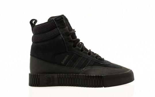 adidas Originals Samba Boot W core black-core black-core black