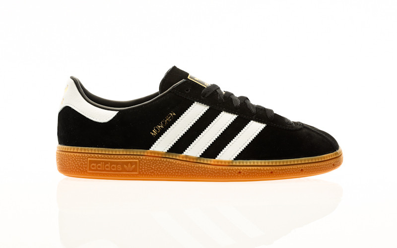 adidas Originals Munchen core black-footwear white-gold metallic