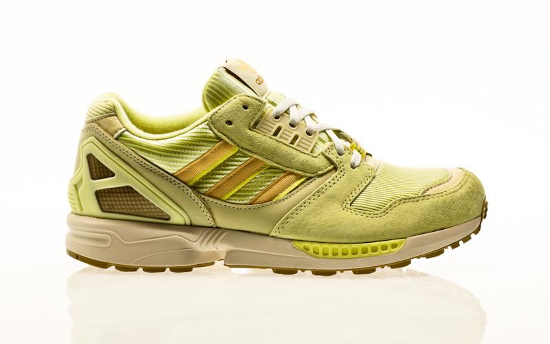adidas Originals ZX 8000 yellow tint-orange tint-pulse yellow