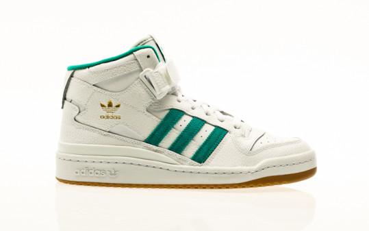 adidas Originals Forum Mid footwear white-gold metallic-gum