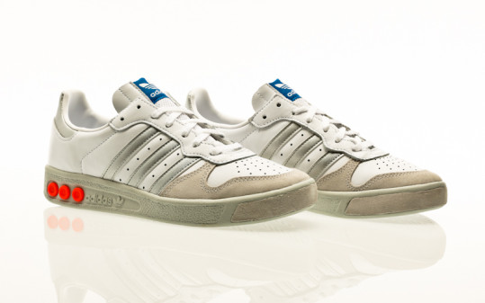 adidas Originals G.S footwear white-silver metallic-wonder white
