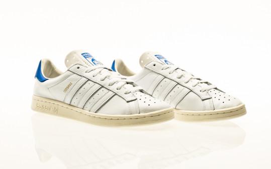 adidas Originals Earlham footwear white-blue-core black