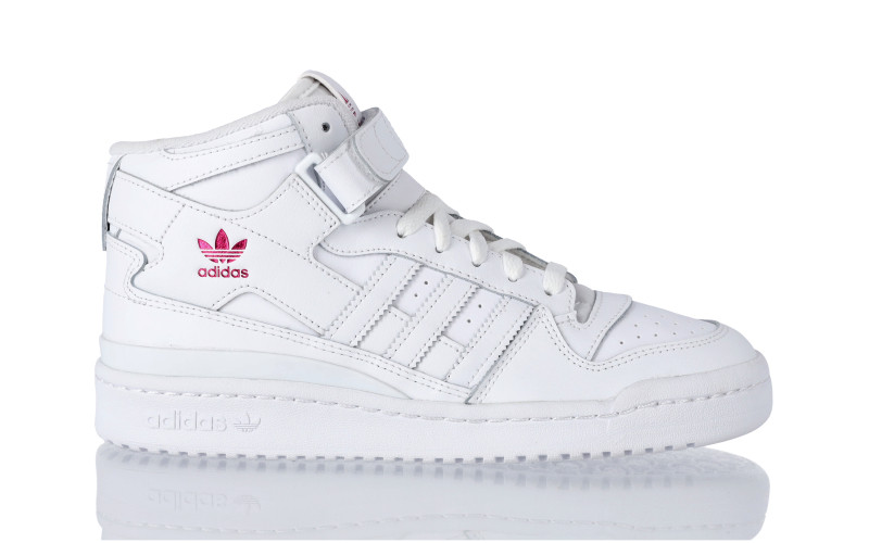 adidas Originals Forum Mid W footwear white white-footwear white white-shock pink