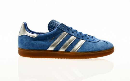 adidas Originals Torino blue-silver metallic-footwear white
