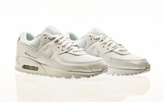 Nike Air Max 90 white-white-white-wolf grey