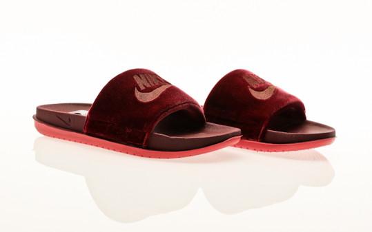 Nike Offcourt Slide SE dark beetroot-mtlc mahogany-archaeo pink