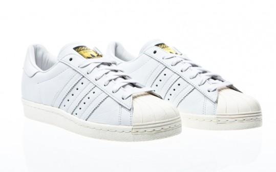 adidas Originals Superstar 80s Deluxe DLX ftwr white-ftwr white-cream white