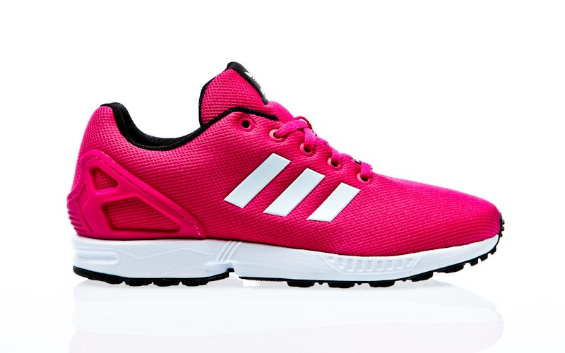 detailed look 866f1 48aa0 adidas Originals ZX Flux K eqt pink-ftwr white-core black