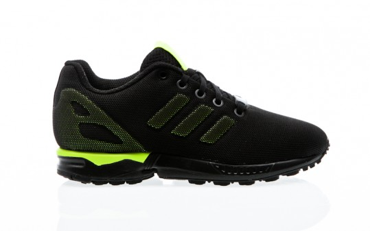 adidas Originals ZX Flux K core black-solar yellow-solar yellow