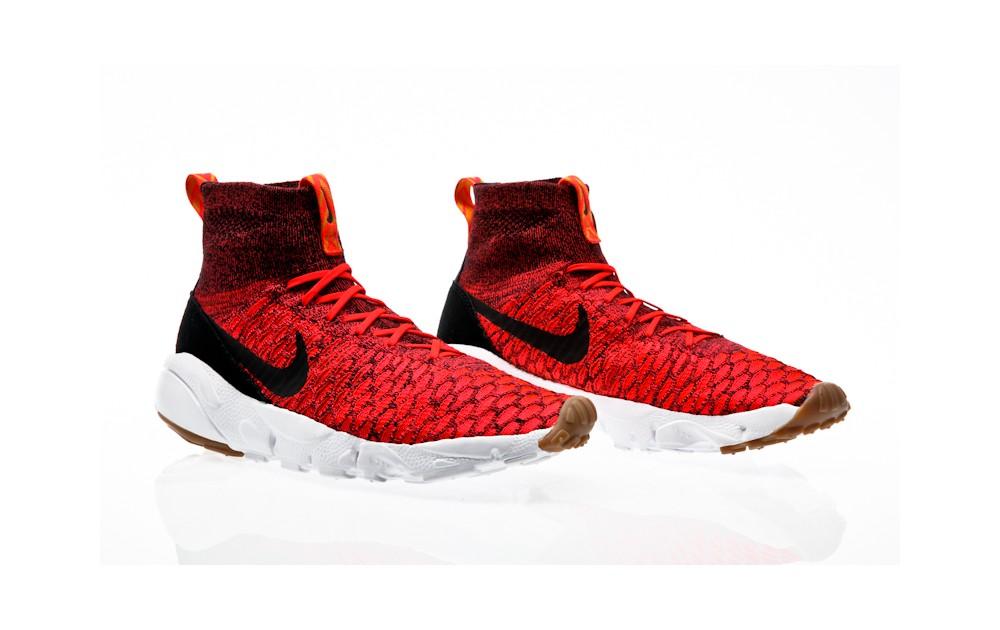 lowest price 7a04f e820c ... Nike Air Footscape Magista Flyknit bright crimson-black-gold lead ...