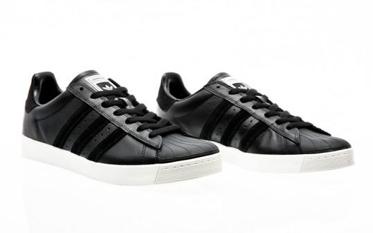 adidas Originals Superstar VULC ADV core black-core black-chalk white