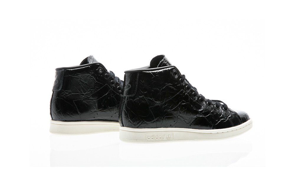 93c77c590d63 ... adidas Originals Stan Smith Mid W core black-core black-off white ...
