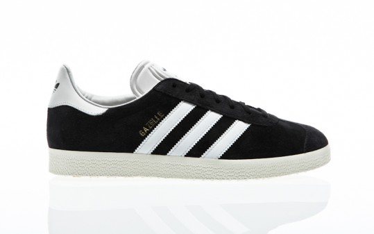 adidas Originals Gazelle core black-vintage white-gold metallic