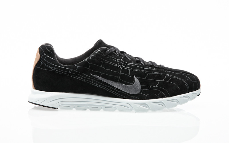 Nike Mayfly Leather Premium black-black-dark grey-linen