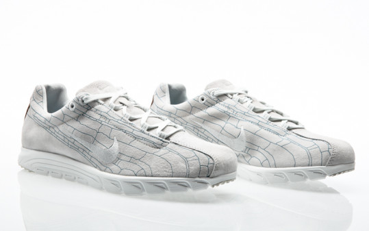 Nike Mayfly Leather Premium off white-off white