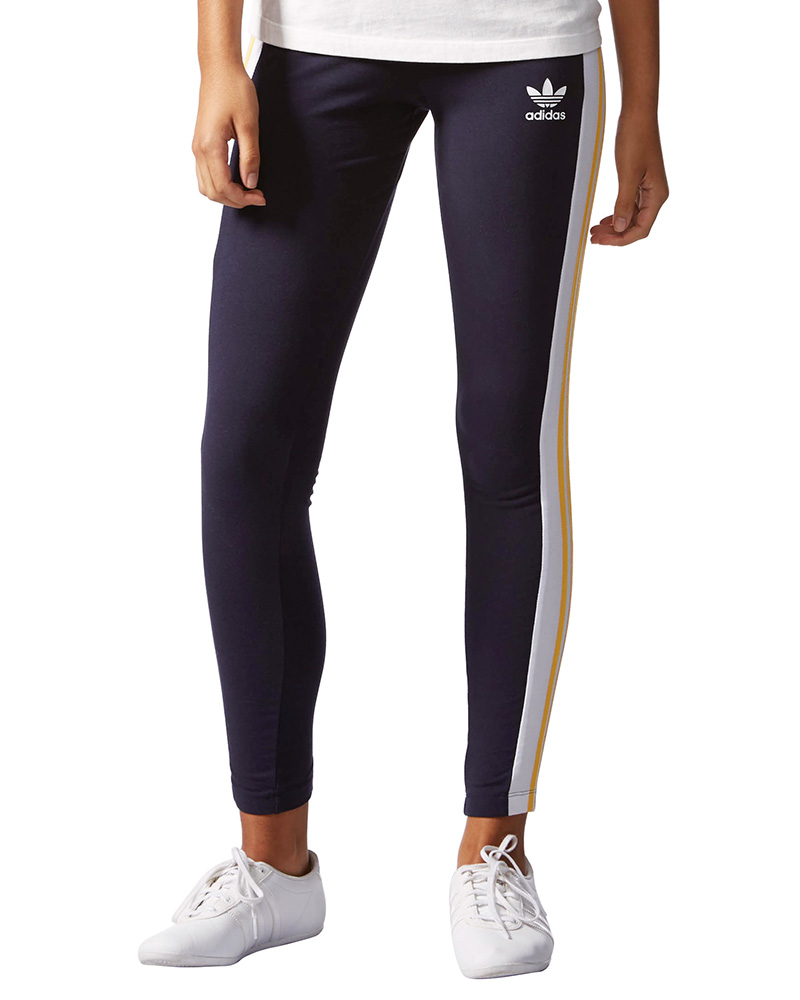 Adidas Leggings Damen Women Stretch Hose Turnhose ...