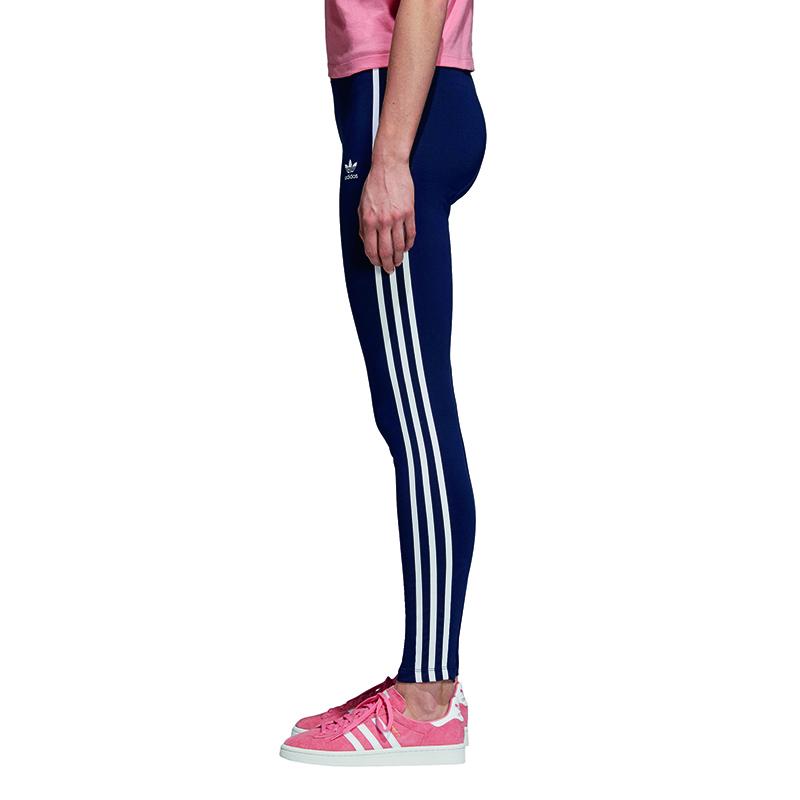 589627cc66 adidas Originals 3 Stripes Tight collegiate burgundy Women Leggings CE2442