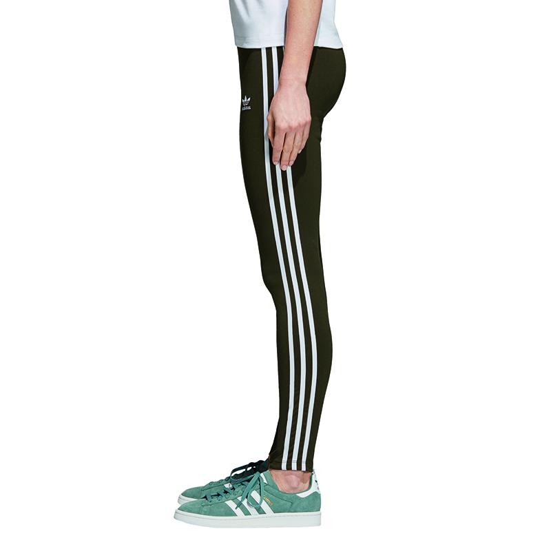 10 Adidas Originals 3 Stripes Ladies Leggings Size