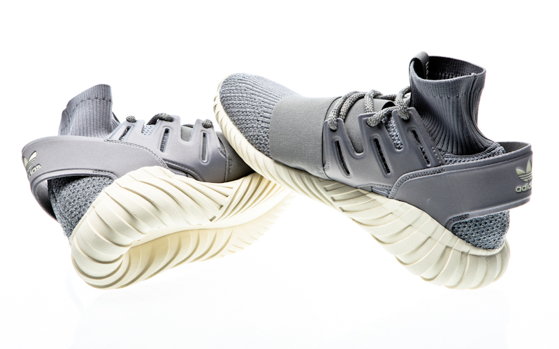 09c2b70c6d7a Adidas Tubular doom PK core Steven black-cream white S74921 sneaker shoes
