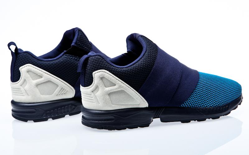 timeless design 666f2 2999f Resbalón de flujo Adidas ZX rojo - Borgoña colegial - blanco zapatos  zapatillas de AF6337