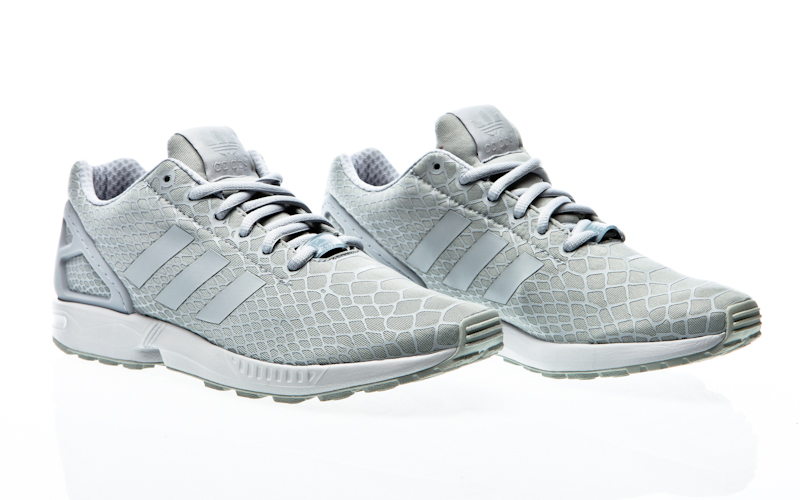 outlet store 0a1e6 62052 Adidas ZX flux clear clear-onix onix-ftwr white B34505 sneaker shoes