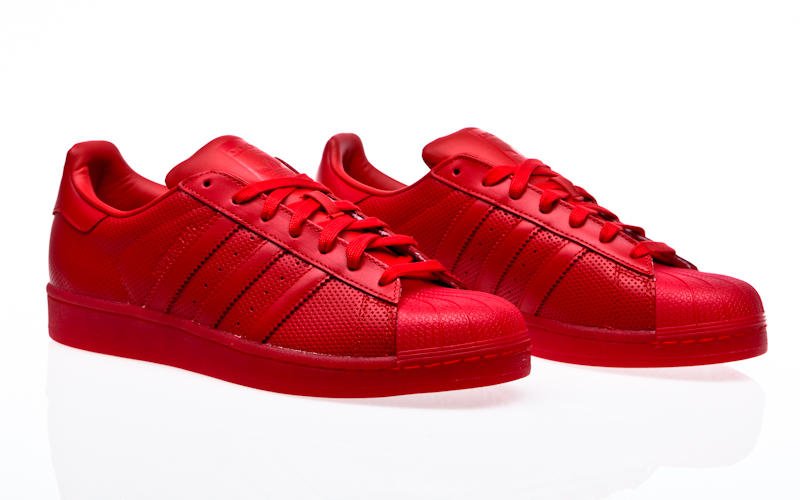 Adidas Sneaker Stan Smith Adicolor S80248 Rot, Schuhgröße:37 13
