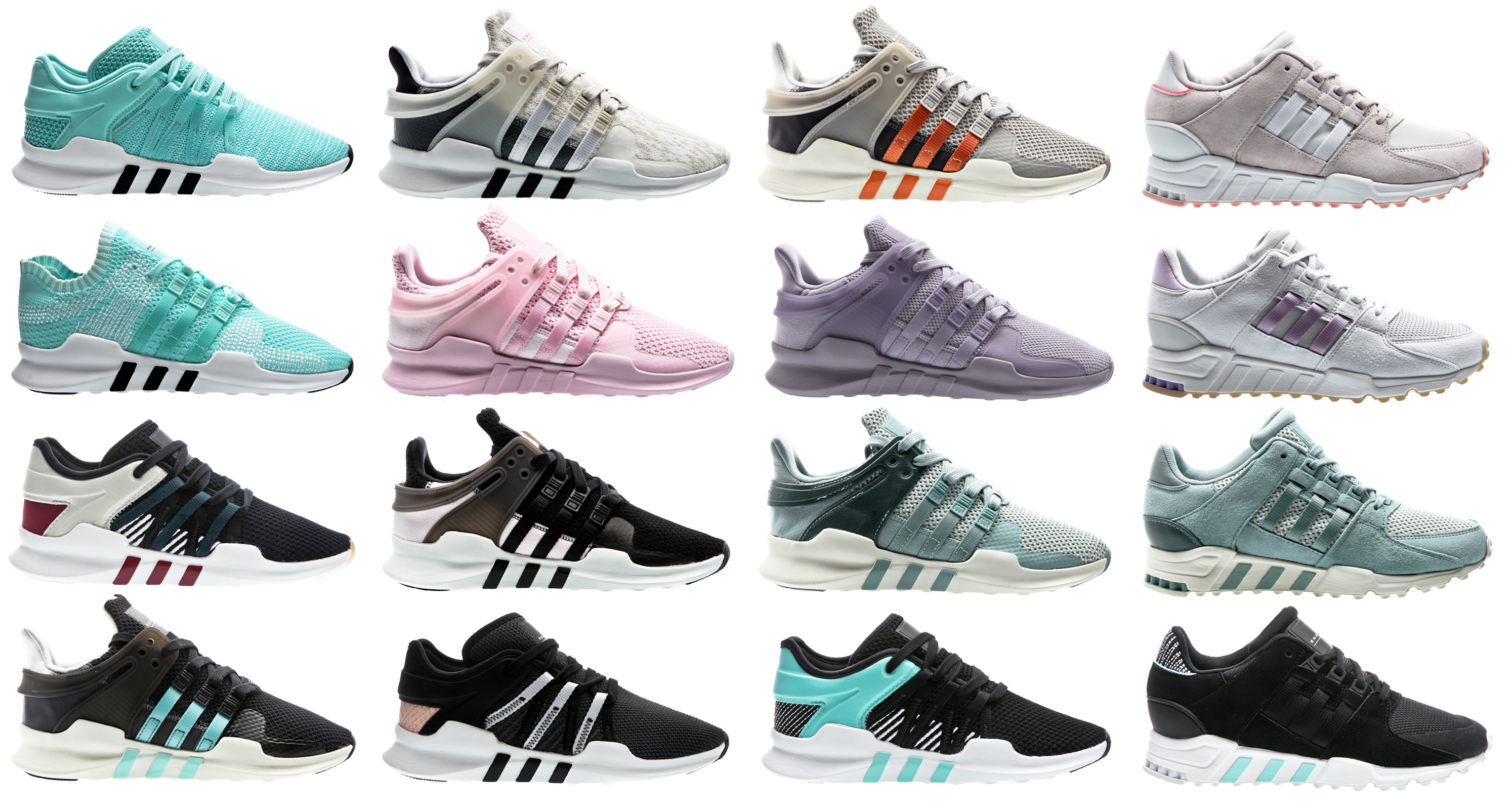 adidas Originals EQT Equipment W Women Sneaker Damen Schuhe