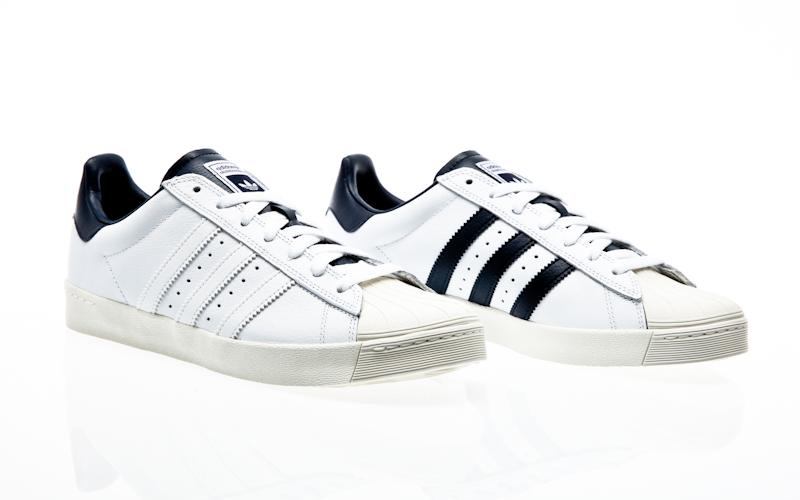 154026b67d85 adidas skateboarding superstar Vulc ADV crystal white   ftwr  white collegiate green B27393 sneaker shoes