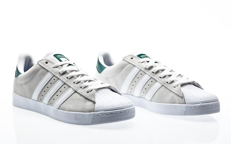 adidas skateboarding superstar Vulc ADV crystal white / collegiate navy/ftwr  white BB8609