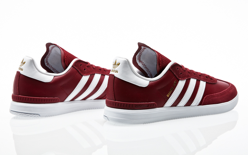 adidas skateboarding Busenitz Vulc Samba Edition ftwr white core  black-bluebird BB8449 sneaker shoes