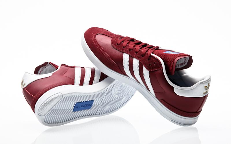 Adidas Busenitz Vulc Adv Shoes Burgundy