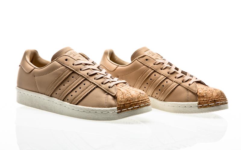 size 40 a651e 7cf56 Adidas originals superstar 80s corcho W ftwr blanco ftwr blanco blanco  BA7605 zapatillas zapatos