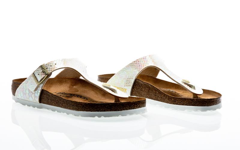 42d281543913 Birkenstock Gizeh NL WB metallic silver 1003675 Sandals Sandals silver
