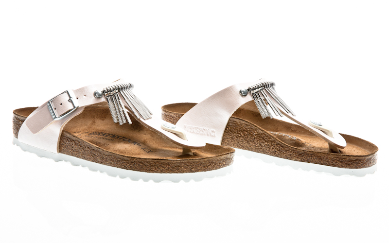 c1b1bbe199f4 Material  Birko-Flor. Birkenstock Gizeh Fringe BF graceful licorice fringe  0745421 Sandals Sandalen
