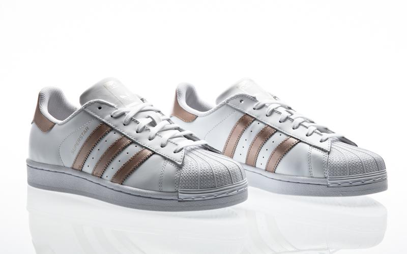 brand new 4e030 9597d Adidas Superstar 80s W grigio chiaro grigio chiaro light onix S81327  sneaker scarpe
