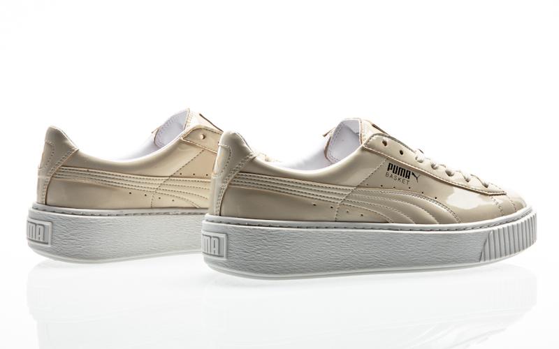 a0807a5e2 Plataforma de canastilla de Puma de la patente mujeres peacoat peacoat zapatos  zapatillas de 363314-03