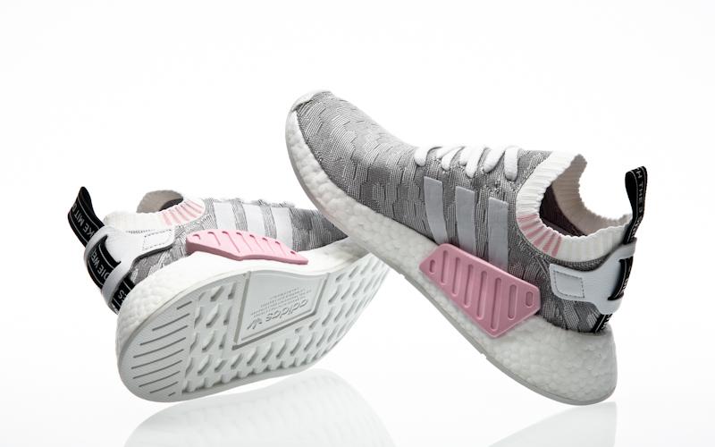 Nmd R Primeknit Shoes Navy Footwear White