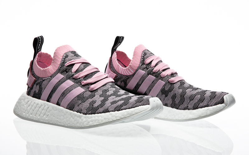 Adidas NMD CS2 Primeknit Women Black Wonder Pink BY9312
