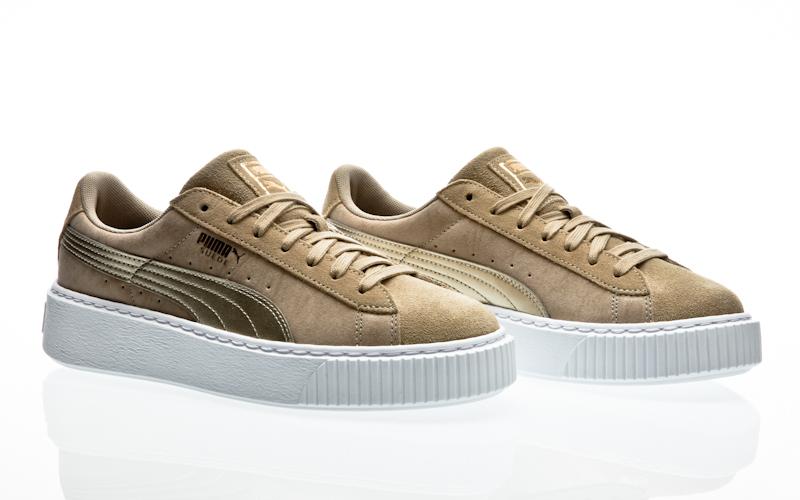 Details about Puma Platform Basket Animal Suede Classic Women Sneaker Women's Shoes