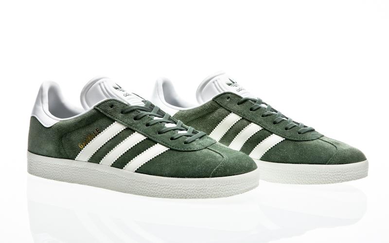 Detalles de Adidas Gazelle Originales Hombre Zapatillas Deportivas para Zapatos de Deporte