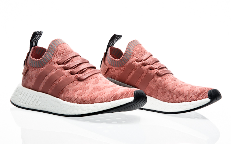 Two Tone Pink Adidas Shoe