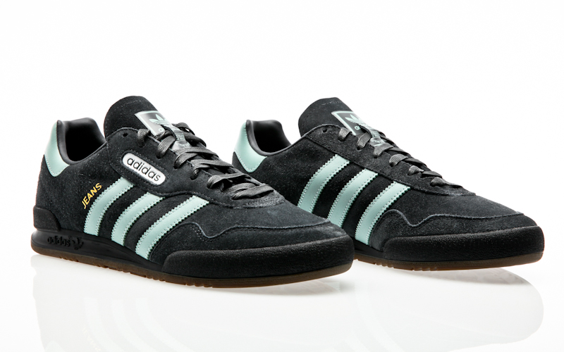best website c0f1d bf13b Material  Leder, Synthetik, Gummi. adidas Originals Jeans Super  branch-tactile yellow-base green CQ2786 Sneaker Schuhe