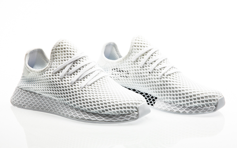 low priced 9e71f 53c77 adidas originals Deerupt runner grey three grey four-footwear white CQ2627  men sneaker mens shoes running shoes