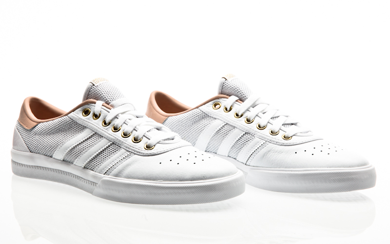 adidas Lucas Premiere ADV footwear whiteash pearlgold metallic