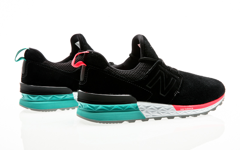 c7da08bb167e New Balance MS574 574 DOA Black 633871-60-8 Men Sneaker Mens Shoes ...