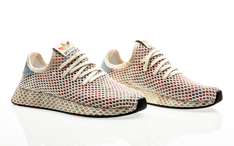 95c872e01 adidas originals Deerupt runner grey one-grey one-clear mint men running  B41754