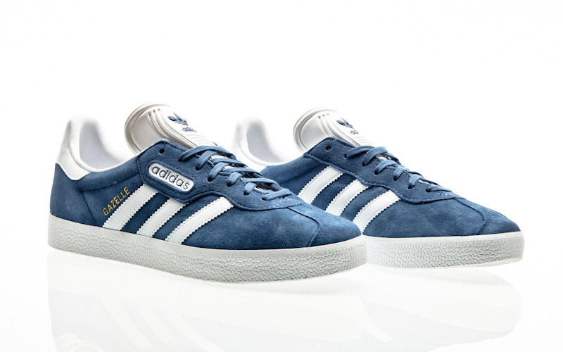 Adidas Herren Gazelle Super Essential CQ2792 Trace Royal