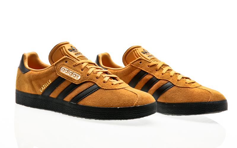 size 40 baad6 232b4 Adidas originals Gazelle Super nero-traccia core mutoni ftwr bianco uomini  Casual CQ2797. Queste scarpe ...
